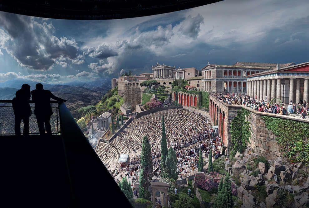 Pergamon, 360°-Panorama, Yadegar Asisi, Foto: Tom Schulze, © asisi