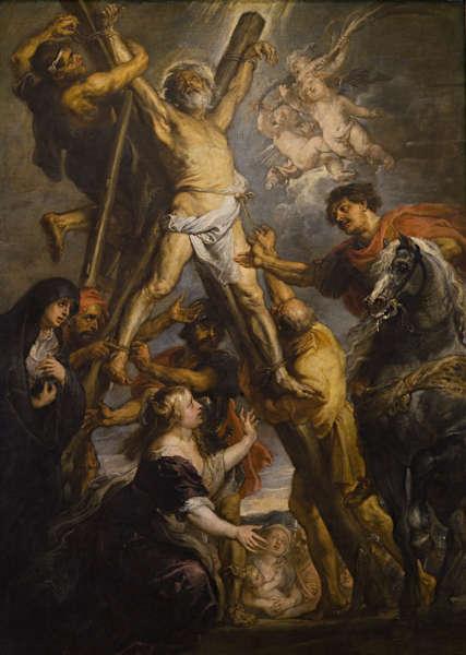 Peter Paul Rubens, Das Martyrium des hl. Andreas, um 1638/39, Öl/Lw, 305 x 216 cm (ohne Rahmen) (Fundación Carlos de Amberes, Madrid)
