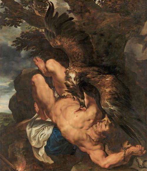 Peter Paul Rubens, Frans Snyders, Prometheus, 1611/12–1618, Öl auf Leinwand, 242,6 × 209,6 cm (Philadelphia, Philadelphia Museum of Art, purchased with the W. P. Wilstach Fund, 1950 © Credit: Foto Courtesy of Philadelphia Museum of Art)