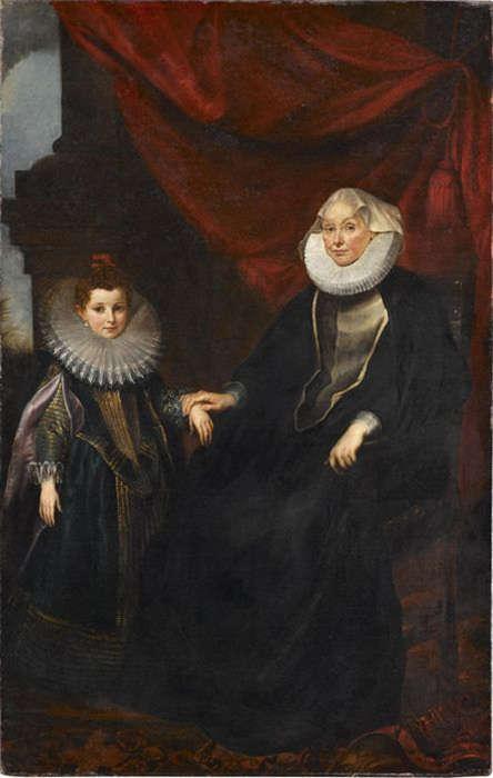 Peter Paul Rubens, Marchesa Bianca Spinola Imperiale und ihrer Nichte Maddalena Imperiale, um 1605/06 (Staatsgalerie Stuttgart)