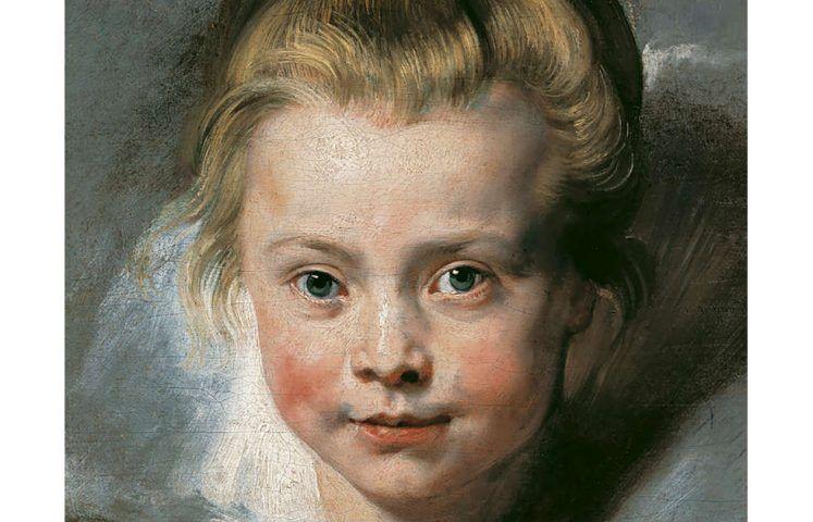 Peter Paul Rubens, Porträt der Clara Serena Rubens, Detail, um 1616, Öl auf Leinwand auf Holz (© LIECHTENSTEIN. The Princely Collections, Vaduz–Vienna)