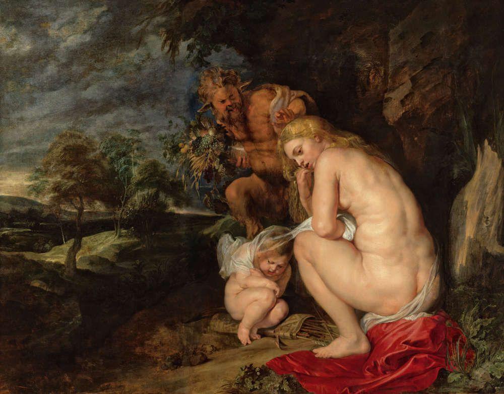 Peter Paul Rubens, Venus frigida, 1614, Öl auf Holz, 145,1 cm × 185,6 cm (Antwerpen, Koninklijk Museum voor Schone Kunsten © www.lukasweb.be - Art in Flanders vzw)