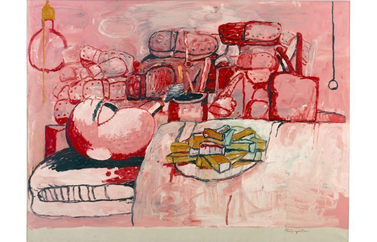 Philip Guston, Painting, Smoking. Eating 1973 (Stedeljik Museum, Amsterdam © The Estate of Philip Guston, courtesy Hauser & Wirth)