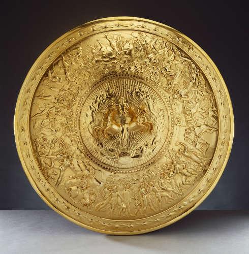 Philip Rundell, Schild des Achilles, 1821 (Royal Collection Trust / (c) Her Majesty Queen Elizabeth II 2019)