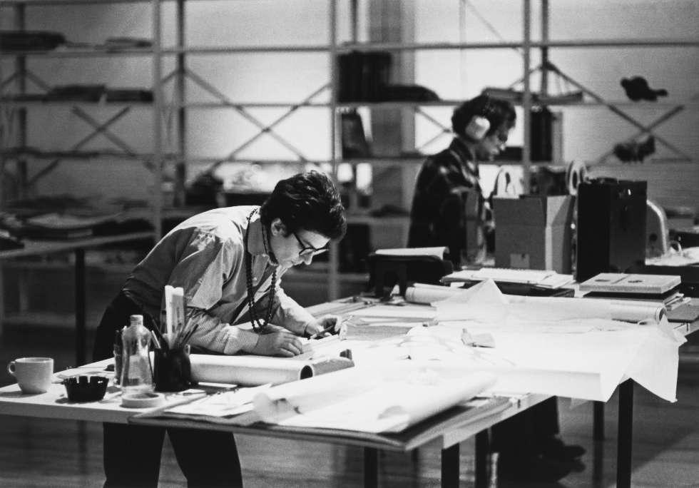 "Phyllis Lambert, in: ""City Dreamers"" © Ron Milewski 1971, courtesy CCA - Phylis Lambert Fonds"