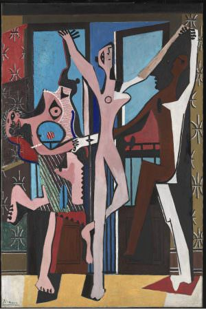 Pablo Picasso, La Danse [Drei Tänzerinnen], Monte Carlo, Juni 1925, Öl auf Leinwand, 215,3 x 142,2 cm (Tate © Sucession Picasso/DACS 2017)