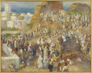 Pierre-Auguste Renoir, Arabisches Fest / Arab Festival, 1881, Öl auf Leinwand / Oil on canvas, 73.5 x 92.4 cm, Musée d'Orsay, Paris (RF 1957-8) © RMN-Grand Palais (musée d'Orsay) / Martine Beck-Coppola.