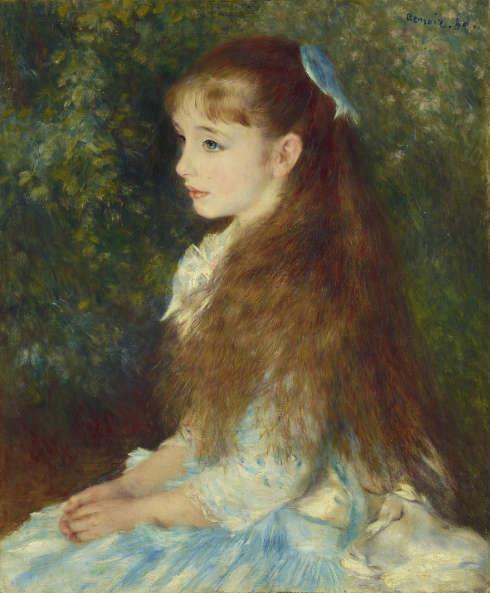 Pierre-Auguste Renoir, Irène Cahen d`Anvers (Die kleine Irene), 1880. Öl/Lw, 65 x 54 cm (© Sammlung Emil Bührle, Zürich, Foto: Schälchli/Schmidt, Zürich)
