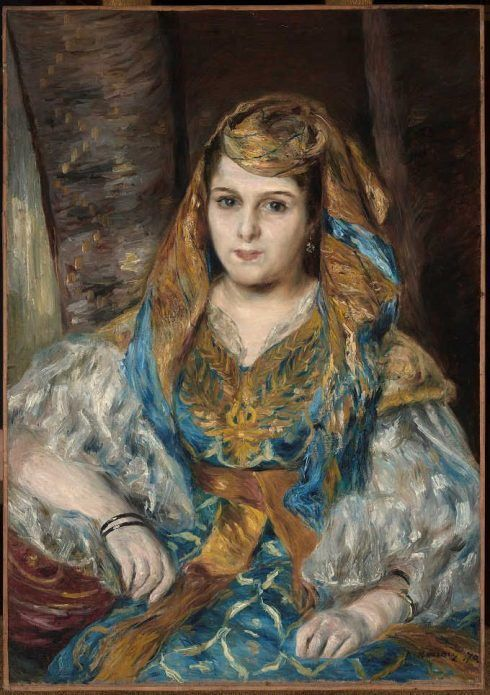 Pierre-Auguste Renoir, Madame Clémentine Valentine Stora (L'Algérienne), 1870, Öl auf Leinwand / Oil on canvas, 84.5 x 59.7 cm © Fine Arts Museums of San Francisco, California, Gift of Mr. and Mrs. Prentis Cobb Hale in honour of Thomas Carr Howe, Jr. (1966.47).