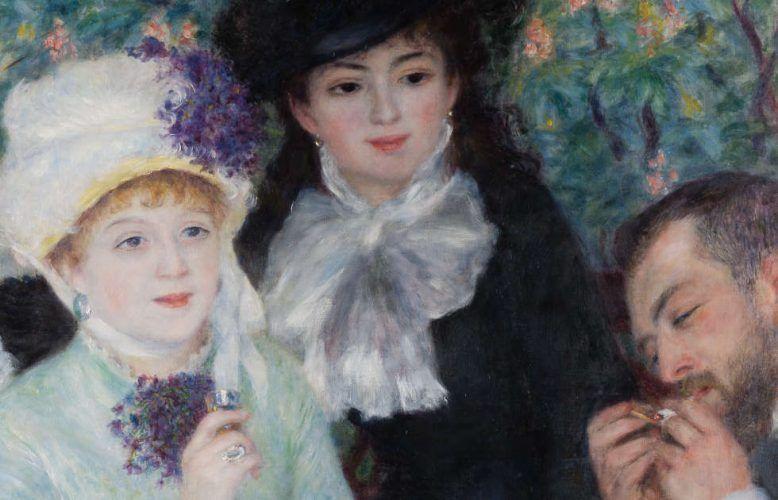 Pierre-Auguste Renoir, Nach dem Frühstück, Detail, 1879, Öl auf Leinwand, 100.5 × 81.3 cm (Frankfurt am Main, Städel Museum D219 © Städel Museum - U. Edelmann - ARTOTHEK)