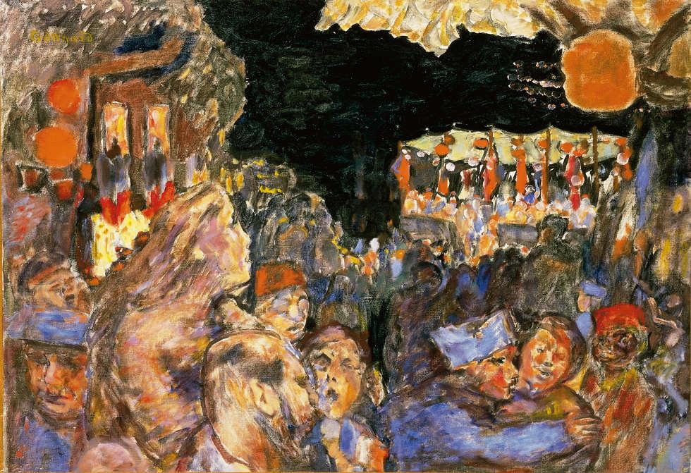 Pierre Bonnard, Der 14. Juli 1918, Öl/Lw, 59,5 x 85,3 cm (Privatsammlung)