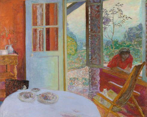 Pierre Bonnard, Speisezimmer am Land, 1913, Öl/Lw, 164,5 x 205,7 cm (Minneapolis Institute of Art)
