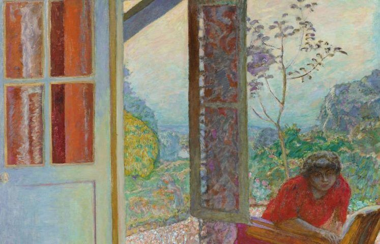 Pierre Bonnard, Speisezimmer am Land, Detail, 1913, Öl/Lw, 164,5 x 205,7 cm (Minneapolis Institute of Art)