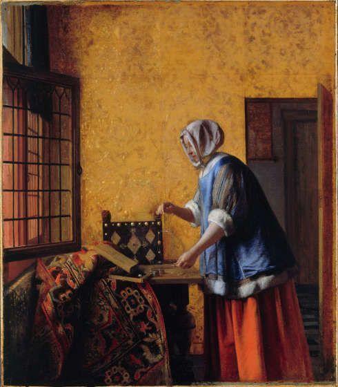Pieter de Hooch, Frau mit einer Waage, um 1664, Öl auf Leinwand, 61 x 53 cm (Berlin, Staatliche Museen zu Berlin)