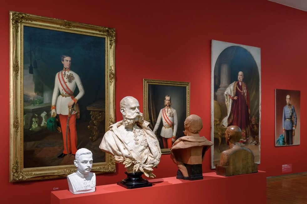 Wer bist du? Porträts aus 200 Jahren, Ausstellungsansicht 2017, Foto: Universalmuseum Joanneum/N. Lackner