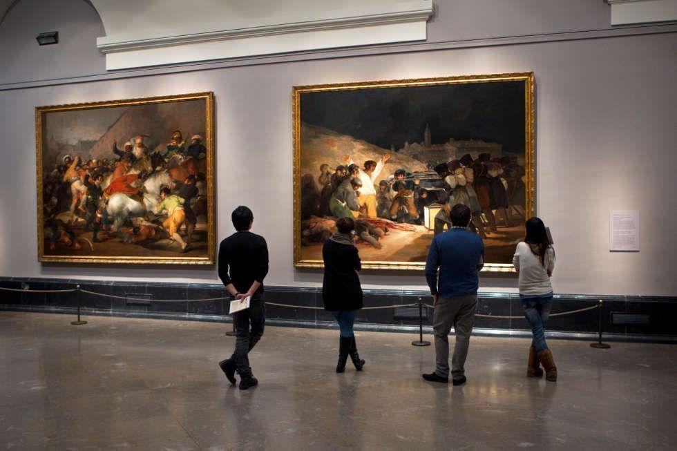 Prado, Sala Goya