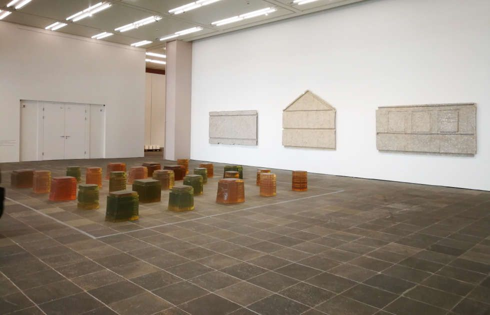 Rachel Whiteread, 25 Spaces im Belvedere 21, Foto: Alexandra Matzner, ARTinWORDS.