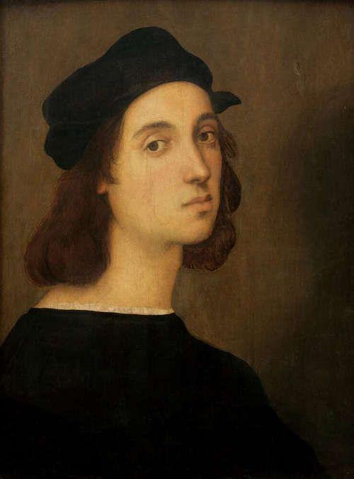 raffael selbstportrt 1506 galleria degli uffizi florenz gabinetto fotografico delle gallerie degli - Michelangelo Lebenslauf