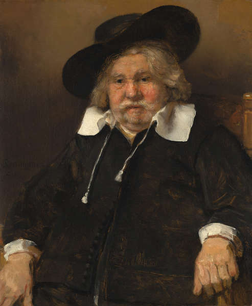 Rembrandt, Porträt eines älteren Mannes, 1667 (Erworben mit der Hilfe der Freunde der Mauritshuis Foundation, the Ministry of Education, Culture and Science, the Fund for National Cultural Heritage, the Sponsor Lottery, the Fonds 1818, the Rembrandt Association, the Prince Bernhard Culture Fund, ING Group, Prof. Dr Drs. A.C.R. Dreesmann, the Dr Hendrik Muller National Fund and private individuals, 1999, Mauritshuis, Den Haag)