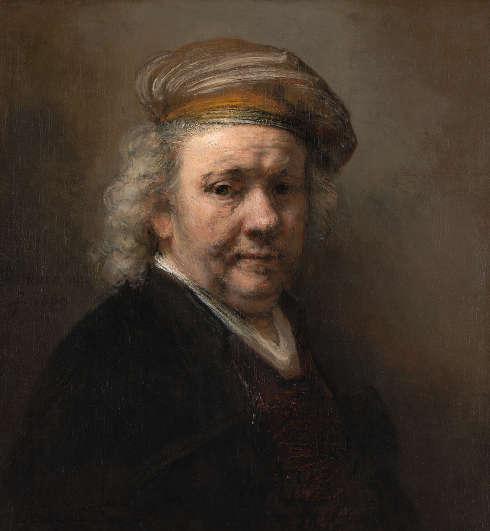 Rembrandt, Selbstporträt, 1669 (Erworben mit Hilfe der Rembrandt Association und privaten Spnedern, 1947, Mauritshuis, Den Haag)