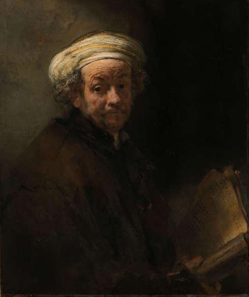 Rembrandt, Selbstporträt als der Apostel Paulus, 1661, Öl/Lw, 91 x 77 cm (Rijksmuseum, Amsterdam)