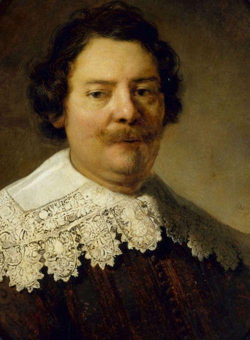 Rembrandt (Werkstatt), Willem Burggraeff (Detail), 1633 (Staatliche Kunstsammlungen Dresden, Gemäldegalerie Alte Meister © bpk, Staatliche Kunstsammlungen Dresden, Foto: Hans-Peter Klut)