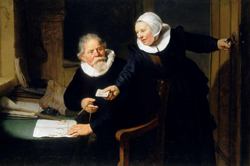 Rembrandt van Rijn, Der Schiffsbauer und seine Frau: Jan Rijcksen und Griet Jans, 1633 (Royal Collection Trust / (c) Her Majesty Queen Elizabeth II 2019)