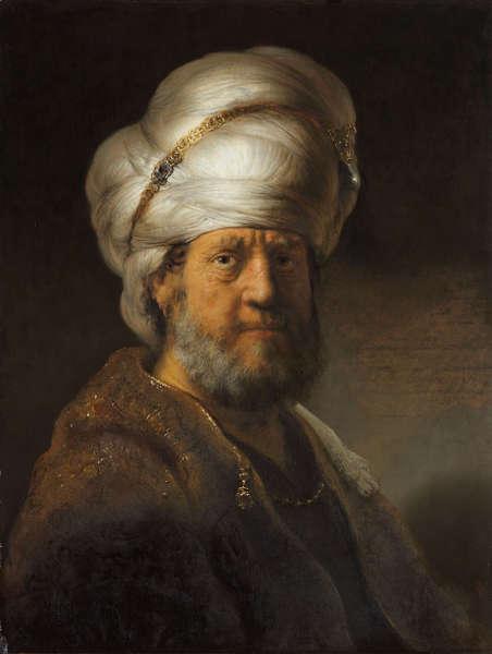 Rembrandt van Rijn, Mann in orientalischer Kleidung, 1635 (Rijksmuseum, Amsterdam, Schenkung van de heer en mevrouw Kessler-Hülsmann, Kapelle op den Bosch)