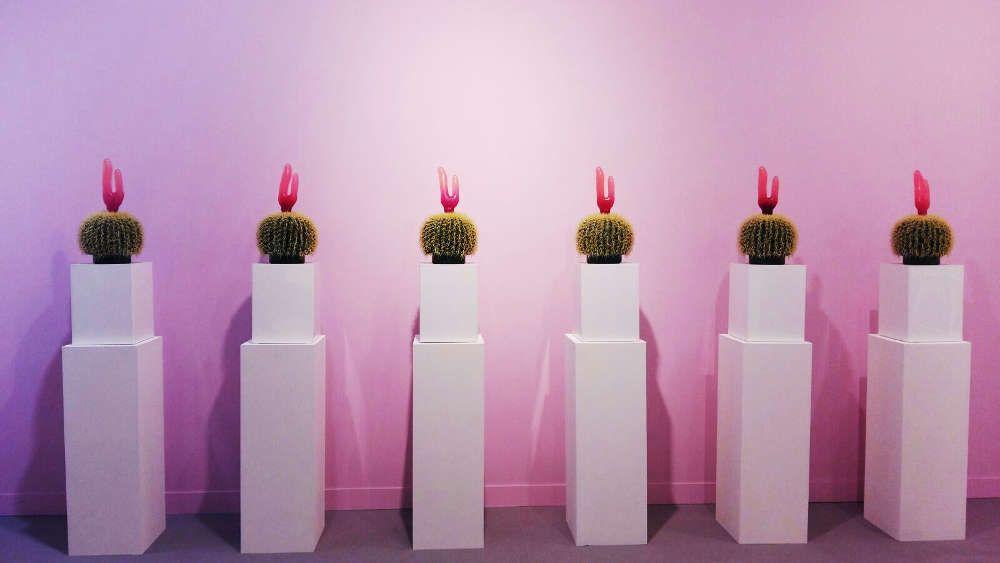 """Renate Bertlmann, Kaktus, 1999, in der Sektion """"Sex Work"""" © Künstler und Galerie, Foto: Eva Pakisch"""