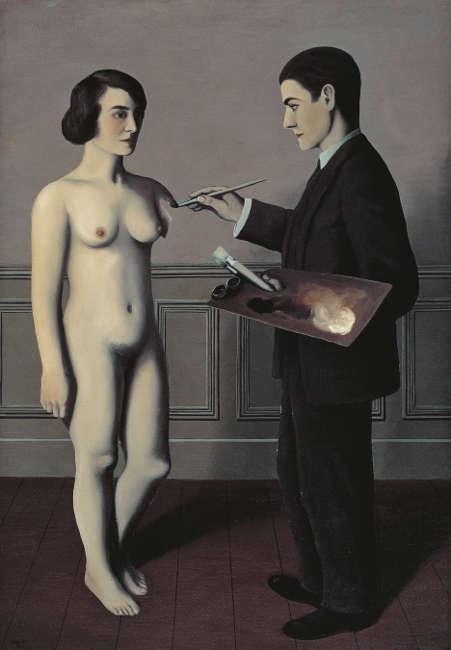 René Magritte, Versuch des Unmöglichen, 1928 (Toyota Municipal Museum of Art, Toyota. Courtesy Ludion Publishers © René Magritte, VEGAP, Madrid, 2021)