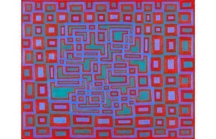 Richard Anuszkiewicz, Untitled, 1961