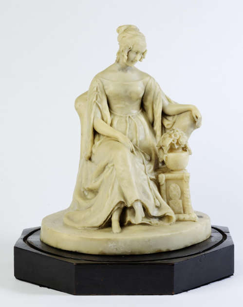 Richard Cockle Lucas, Lady Stepney, 1836, Wachs, Höhe 32.1 cm (V & A Museum, London, Inv.-Nr. A.9-1964)