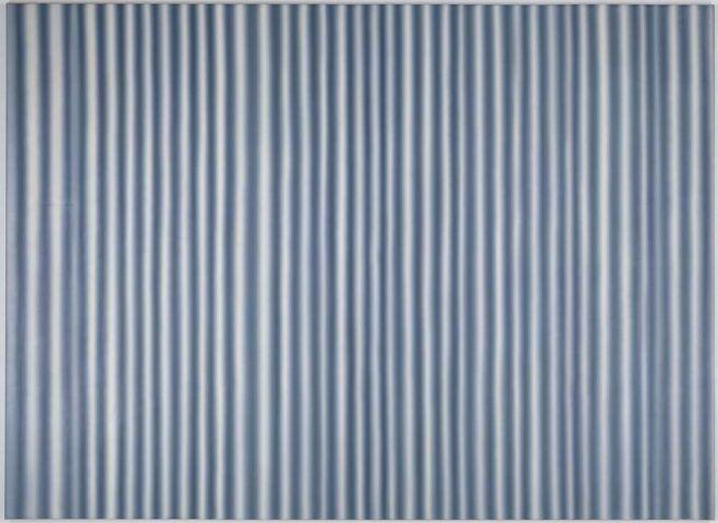 Gerhard Richter, Vorhang IV (CR 57), 1965, Öl auf Leinwand, 200 × 190 cm (Kunstmuseum Bonn)