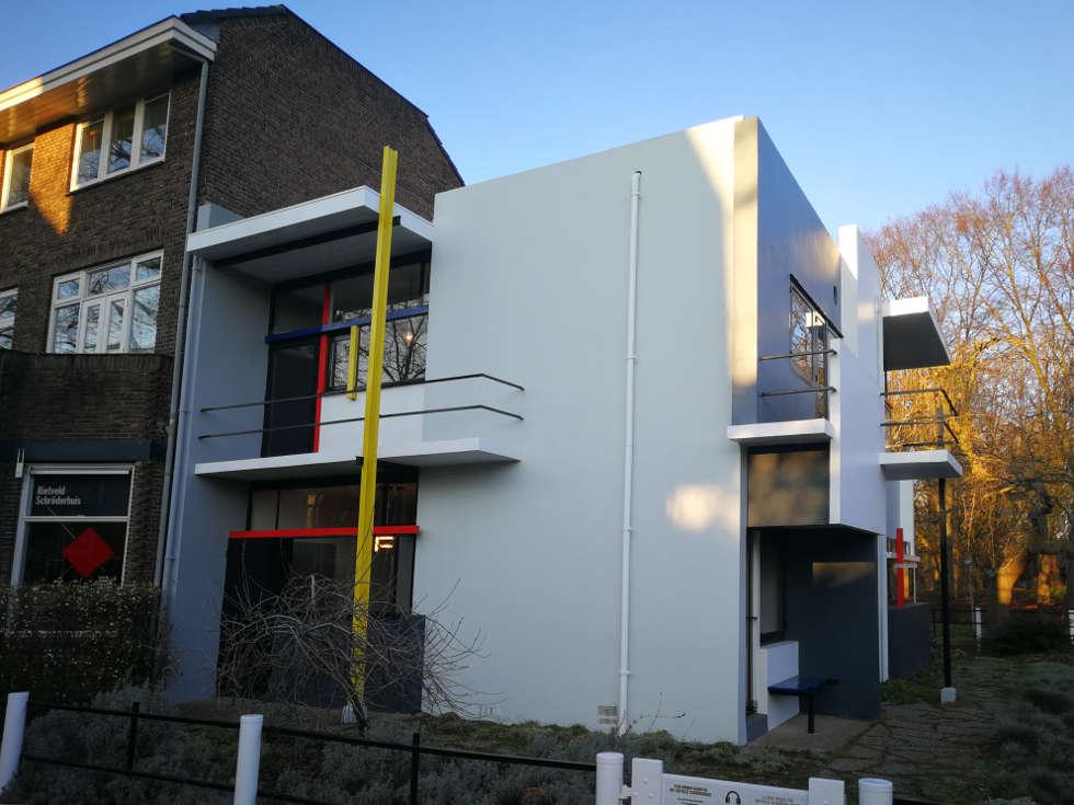 Rietveld Schröder Haus Utrecht Artinwords