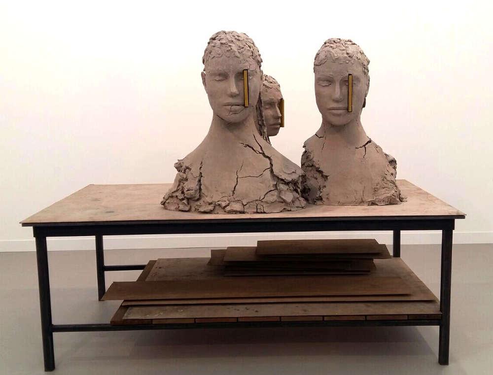 Rivane Neuenschwanger bei Tanya Bonakdor Gallery © Künstler und Galerie, Foto: Eva Pakisch