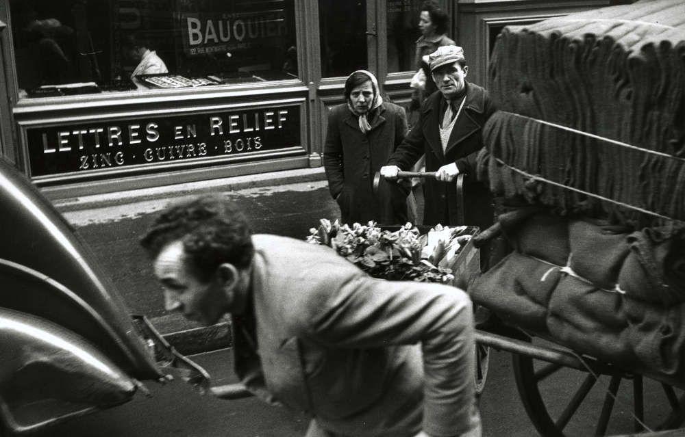 Robert Frank, Paris, 1949 (Albertina, Wien - Dauerleihgabe der Österreichischen Ludwig-Stiftung für Kunst und Wissenschaft)