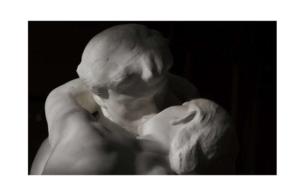 Auguste Rodin, Der Kuss, Detail, 1886 (Musée Rodin, Paris)