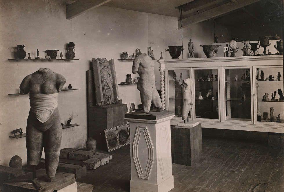 Rodins Sammlung antiker Skulpturen in Meudon (Musée Rodin, Foto: Jean de Calan)