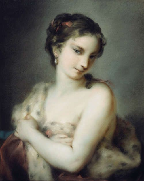 Rosalba Carriera, Winter, um 1726 (Royal Collection Trust/© Her Majesty Queen Elizabeth II 2016)