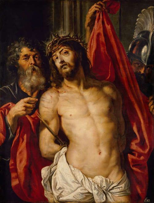 Peter Paul Rubens, Ecce homo, 1612, Öl auf Holz, 125,7 x 96,5 cm (Eremitage, St. Petersburg)