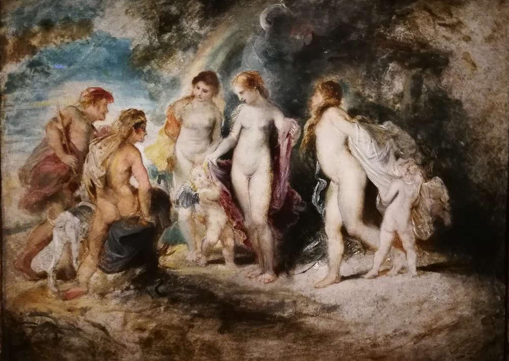 Peter Paul Rubens, Das Urteil des Paris, um 1601 (Wien, Akademie der Bildenden Künste, Gemäldegalerie), Foto: Alexandra Matzner, ARTinWORDS.