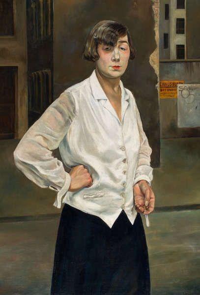 Rudolf Schlichter, Margot, 1924 (Stiftung Stadtmuseum Berlin © Viola Roehr von Alvensleben, München)