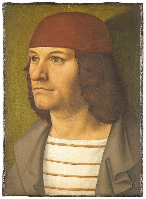 Rueland Frueauf d. Ä., Bildnis des Malers Jobst Seyfrid, um 1490 (© Belvedere, Wien)