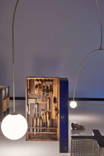 SHOWROOM WIENER WERKSTÄTTE Ein Dialog mit Michael Anastassiades, MAK-Ausstellungsansicht, 2021, MAK-Schausammlung Gegenwartskunst © MAK/Georg Mayer (4)