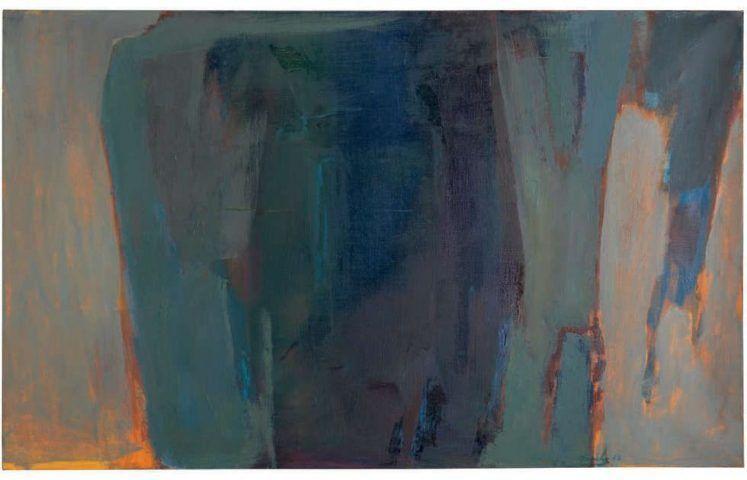 Saliba Douaihy, Untitled, 1963, Öl/Lw, 66.3 x 106.9 cm (Privatsammlung)