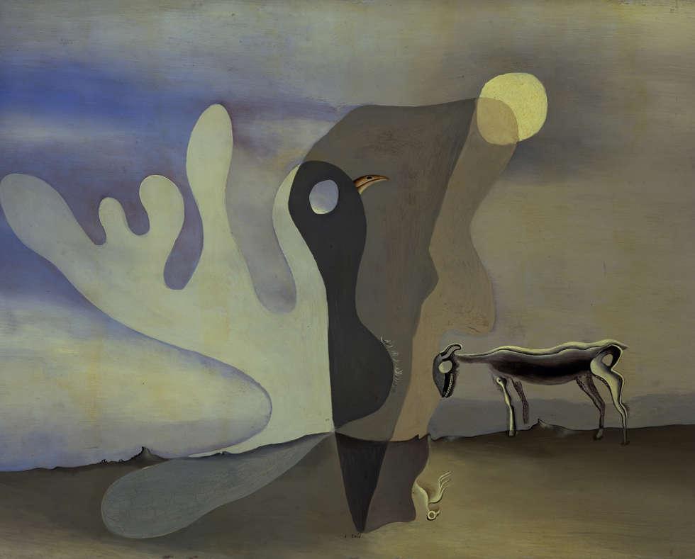 Salvador Dalí, Die Spektralkuh, 1928 (The Salvador Dalí Museum, St. Petersburg (Florida) © Fundació Gala-Salvador Dalí, Figueres/ VG Bild-Kunst, Bonn 2020)