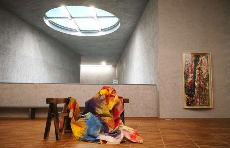 Sam Gilliam, The Music of Color, Kunstmuseum Basel 2018, Foto Alexandra Matzner, ARTinWORDS