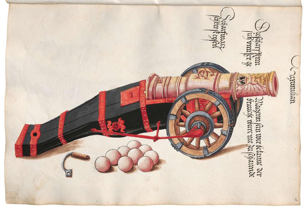 Scharfmetze (© Österreichische Nationalbibliothek)