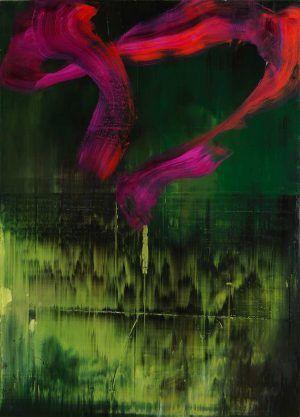 Hubert Scheibl, Ones, 2012/13, Öl auf Leinwand, 195 cm x 140 cm (© Hubert Scheibl, Foto: Ditz Fejer)