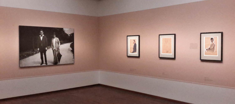 Egon Schiele, Ausstellungsansicht Albertina 2017, Foto: Alexandra Matzner.